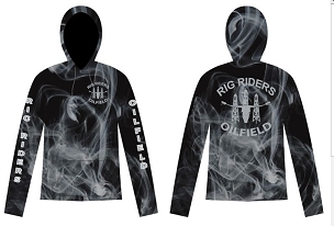 Hoody, Rig Riders, Support Logo, Fully Sublimated