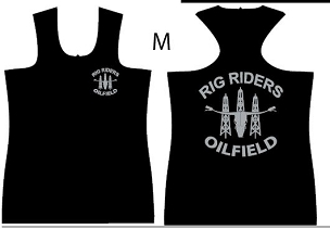 Racerback (Womens), Jersey, Rig Riders, Support, Fully Sublimated