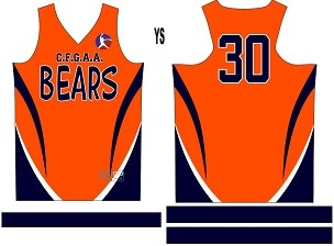 Bears, Jersey with Sleeves
