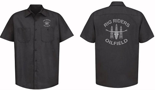 Work Shirt, Full Button, Rig Riders